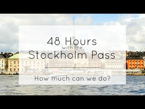 48 hour Stockholm Pass // Travel Video