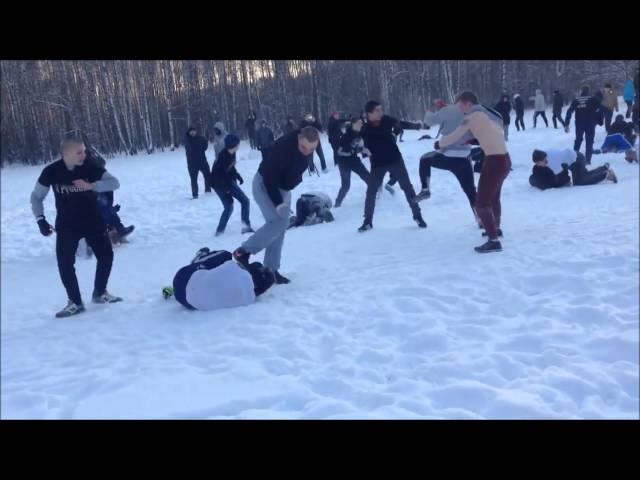 Ustawka:Spartak Moskwa vs. Dynamo+CSKA Moskwa 26.01.2014