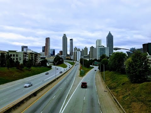 Atlanta Georgia, USA 4K Ultra HD Film