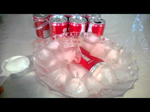 SchoolFreeware Science Video 13 - Cool Drinks Fast With Endothermic Reactions
