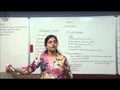 Insurance Services Cl XI Bussiness Studies by Ruby Singh