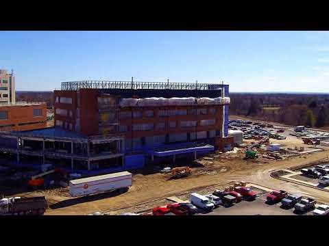 Mount Carmel Hospital Construction progress 2-27-18, Grove City Ohio