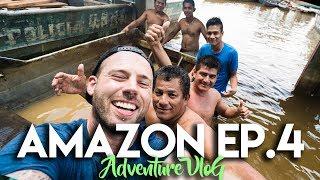AMAZON JUNGLE ADVENTURE CHALLENGE VLOG - EP. 4
