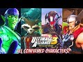 All Characters Confirmed For Marvel Ultimate Alliance 3: The Black Order