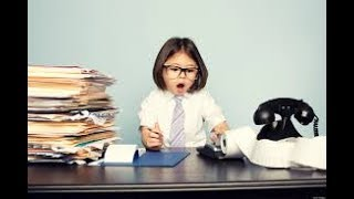 Don't talk about your children at work, if you want a successful career!