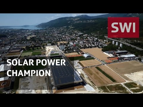 Stadium sets record - for solar panels