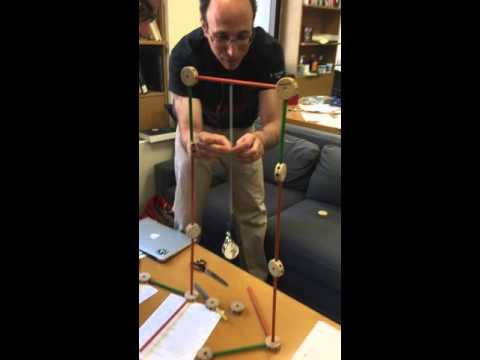 Dan Spielman and Nicholas Christakis demonstrate Braess Paradox at YINS