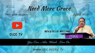 Need More Grace