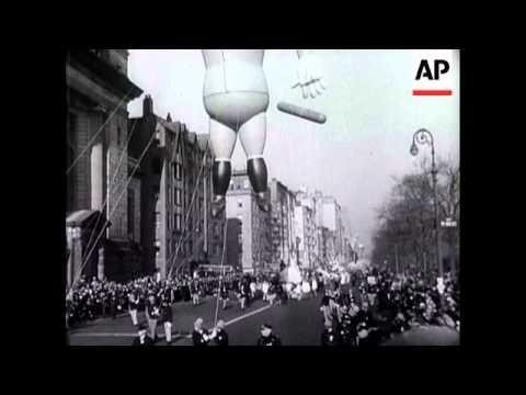 MACY'S PARADE 1930s - NEW YORK 1930'S
