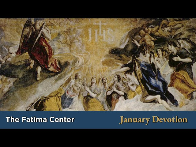 January Devotion: The Most Holy Name of Jesus | Monthly Devotions with Fr. Shannon Collins