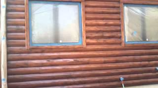 Log Home Restoration & Staining Fort Wayne Indiana
