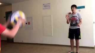 Как играют волейбол ржака