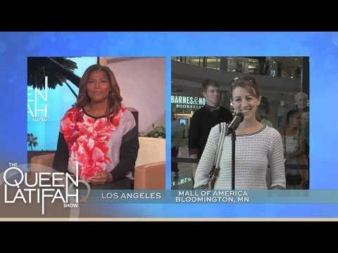 Q-Cam Pops Up At Mall of America | The Queen Latifah Show
