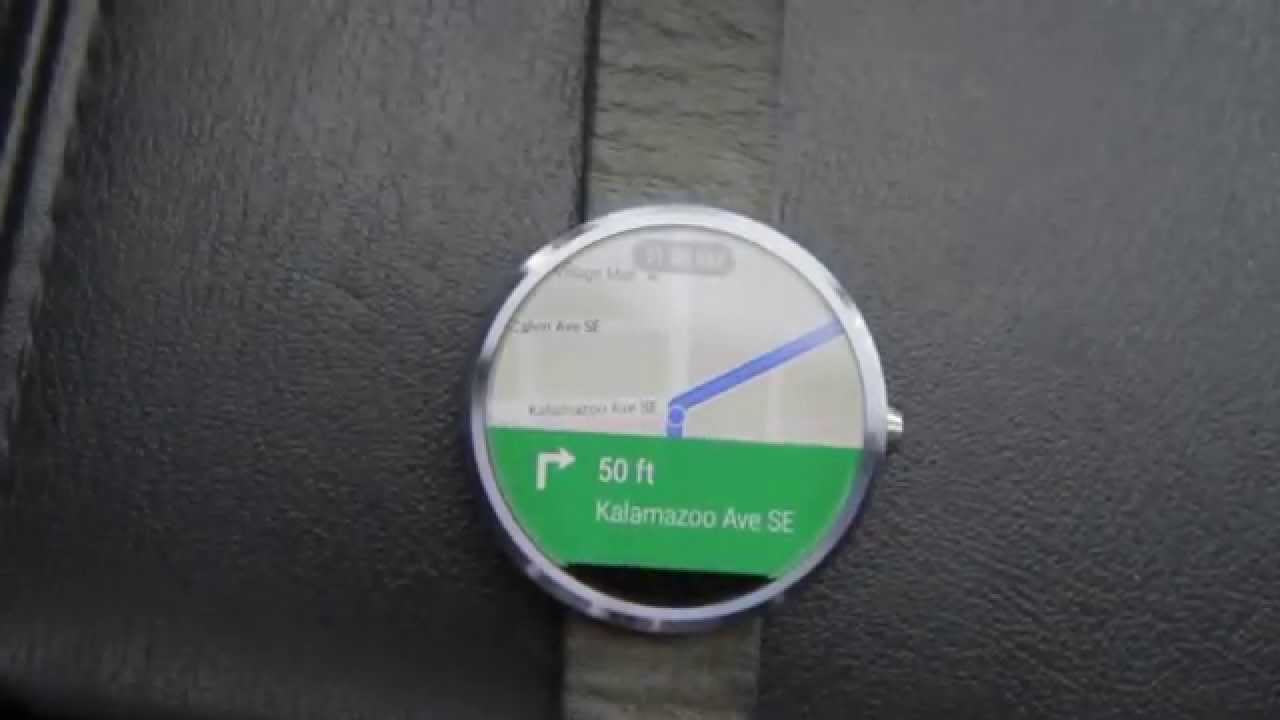 Maps 360.Moto 360 Google Maps Navigation In Action