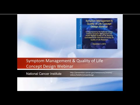 Symptom Management & Quality of Life Concept Design