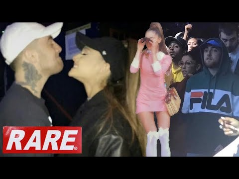Ariana Grande & Mac Miller UNSEEN RARE FOOTAGE