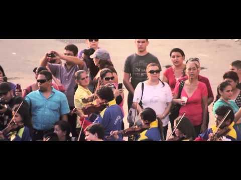 Классический флэш моб. Южная Америка, Венесуэла. 2013