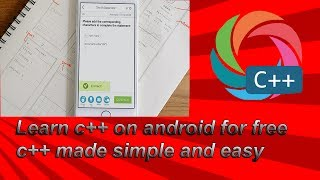 BEST APP TO LEARN C++ ON ANDROID    C++ MADE EASY AND SIMPLE