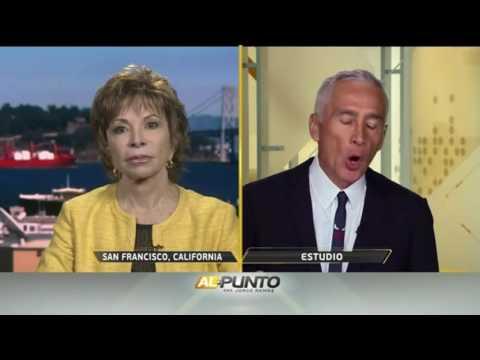 Jorge Ramos habla con Isabel Allende sobre lo que significaria una presidencia de Donald Trump