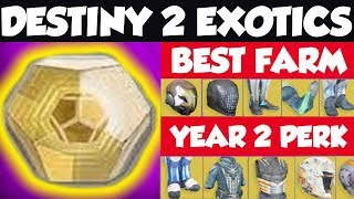 HOW TO FARM EXOTICS | Best way to farm exotics in Destiny 2