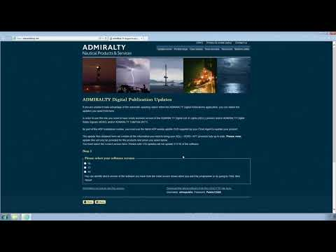 Downloading ADMIRALTY Digital Publications (ADP) updates using the ADMIRALTY website