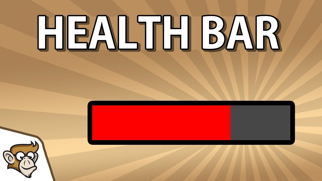 How to make a Health Bar (Unity 2D Tutorial for Beginners)