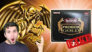 GODLY YuGiOh Premium Gold Box Opening, Search for the GOD CARDS!! Fake Pack Opening!? #MMM