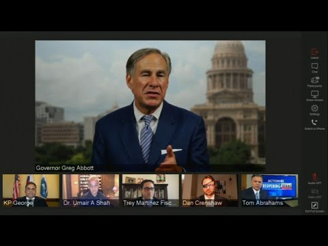 Texas governor issues mask order to fight COVID-19