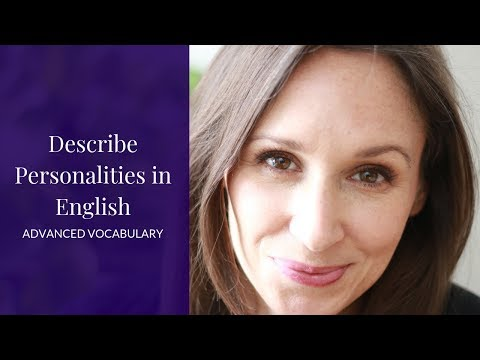 How to Describe Your Personality in English