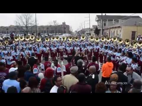 Talladega College v.s. Southern University *FULL UNCUT BATTLE*  @ 2015 Bacchus Parade