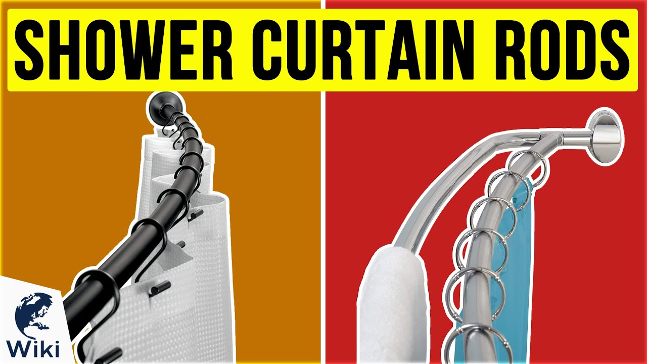 10 best shower curtain rods 2020