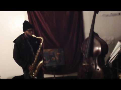 Aaron Burnett tenor sax solo  1+2+3 #59  11/5/16