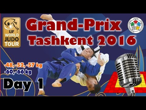 Judo Grand-Prix Tashkent 2016: Day 1
