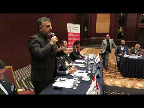 Halil Korkmaz'ın Patronlar Platformu'ndaki konuşması...