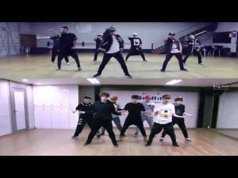 BTS - Boy In Luv Dance Demo vs Official
