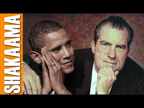 OBAMA SPYING WORSE THAN NIXON WATERGATE SPY AGENCIES MAY BE CLOSED BY TRUMP