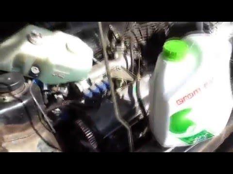 Ремонт системы охлаждения ВАЗ 21099 Замена Помпы, антифриза