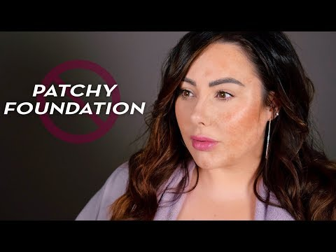 5 Reasons Your Foundation Looks Patchy | Makeup Geek