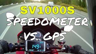 Motorcycle Speedometer VS. GPS…