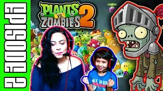 Plants Vs Zombies 2 - Gamepaly Walk Through - EPISODE 2 (PVZ2 : ITS ABOUT TIME)