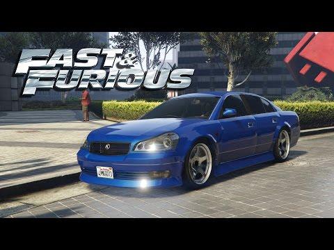 FAST AND FURIOUS - Vince's Nissan Maxima Car Build! - Gta 5