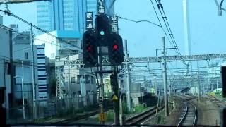 JR東日本 湘南新宿ライン快速宇都宮行 ② 新宿駅~赤羽駅 前面車窓   2019年7月29日