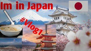 Im in Japan  #Japan travel vlog 1