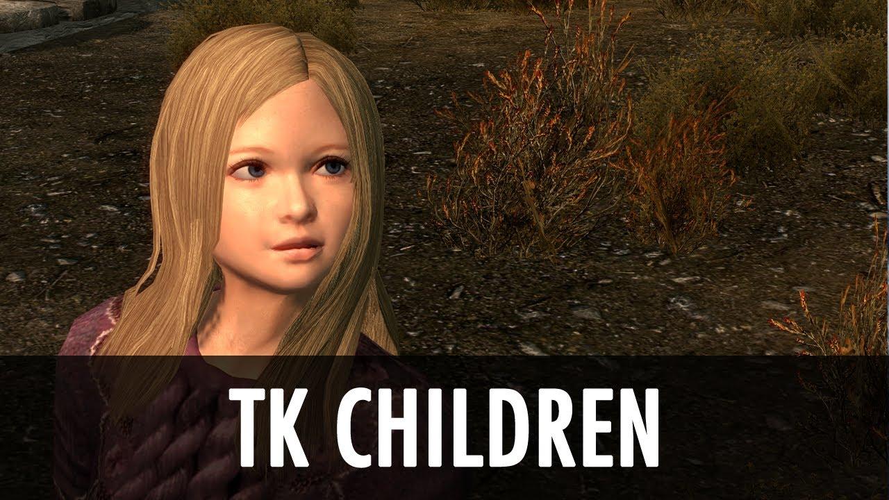 skyrim child nude