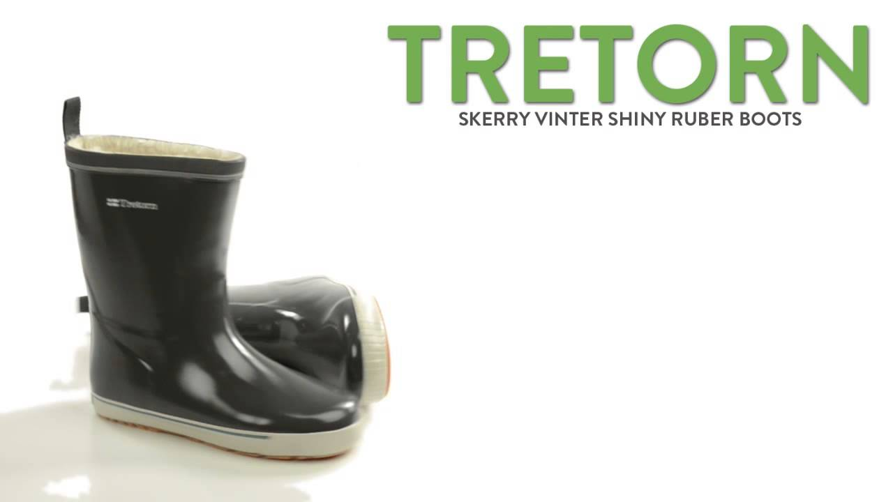 00c09120a17 Tretorn Skerry Vinter Shiny Rubber Boots - Waterproof