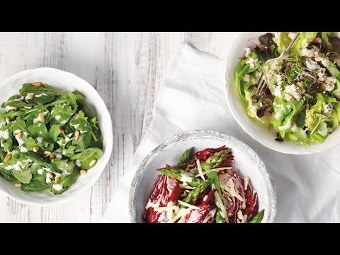 3 Simple Cheese Salad Dressings | All You Need Is Cheese