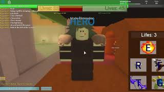 Showcasing Colossal! *SUPER OP* ROBLOX Noobs Vs Zombies Realish