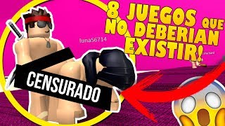 8 NEW GAMES THAT SHOULD NOT EXIST IN ROBLOX AND THAT YOU DO NOT KNOW!!