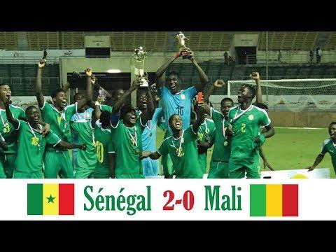 Sénégal vs Mali 2-0 - Les Lionceaux remportent le tournoi UFOA U20