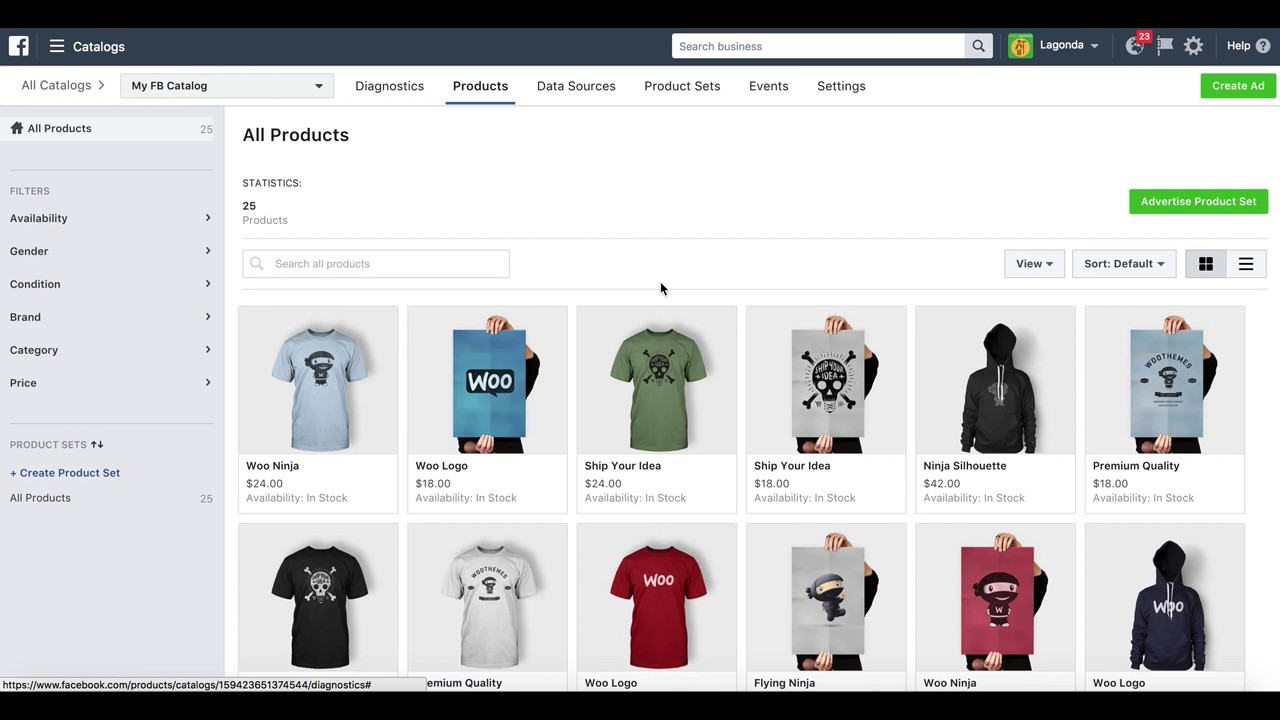 WooCommerce: Facebook Product Catalog for Dynamic Product Ads ...